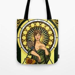Queen of gluten/Goddess of harvest Tote Bag