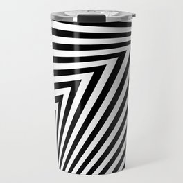 abstract striped background Travel Mug