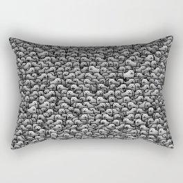 Annoying dogs Rectangular Pillow