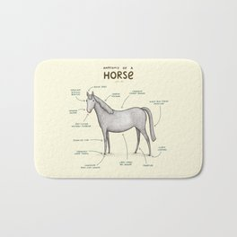 Anatomy of a Horse Bath Mat