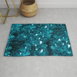 Teal Rock Candy Rug