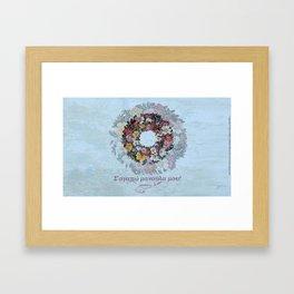 Σ'αγαπώ μανούλα μου - by Fanitsa Petrou Framed Art Print