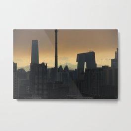 Western Sky, Beijing Metal Print