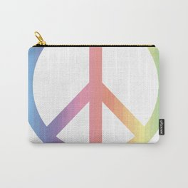 Women's March On Washington Peace Sign Carry-All Pouch