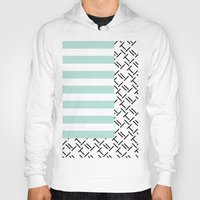 memphis Hoodies featuring Abstract Memphis Inspired by Camila Sanint