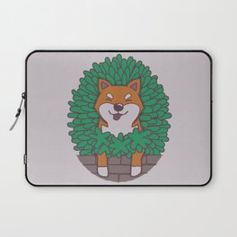 Just hangin' out here.. (Inu Series) Laptop Sleeve