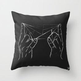 Rock Prism Throw Pillow
