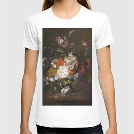 Rachel Ruysch - Still Life, Flowers and Insects T-shirt