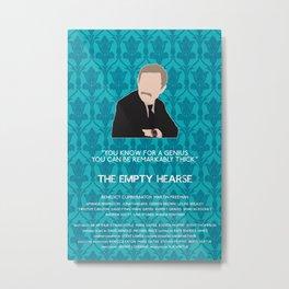 The Empty Hearse - John Watson Metal Print