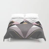 nordic Duvet Covers featuring Nordic Wilderness by Elisabeth Fredriksson