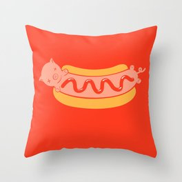 A nöff is a nöff (Enough Is Enough) Throw Pillow