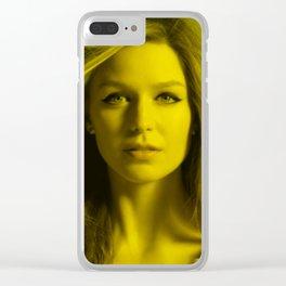 Melissa Benoist - Celebrity (Florescent Color Technique) Clear iPhone Case