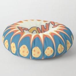 POW! Polka Dot Vintage Graphic Novel Art Floor Pillow