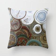 Spirals, Circles and Swirls Cambridge Throw Pillow