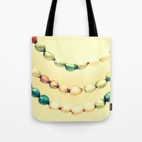 pastel Tote Bags featuring pASTel Vintage Beads by 2sweet4words Designs