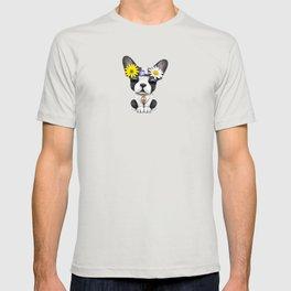 Cute French Bulldog Puppy Hippie T-shirt