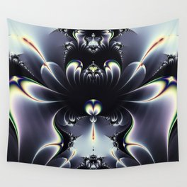 Amazing Royal Color Fractal Design Wall Tapestry