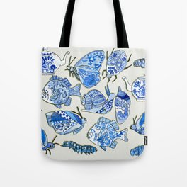 delft blue dream Tote Bag