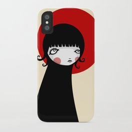 Redd Moon iPhone Case