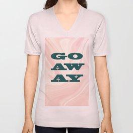 Go Away Unisex V-Neck