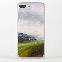 Après la fonte des neiges Clear iPhone Case