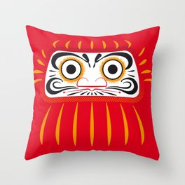 Japan Serie 1 - DARUMA Throw Pillow