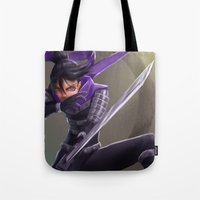 sonic Tote Bags featuring Sonic by Steve Millers Art