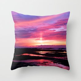 Red Haven Throw Pillow