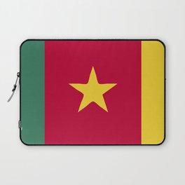 Cameroon flag emblem Laptop Sleeve