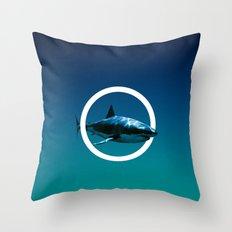 Shark. Throw Pillow