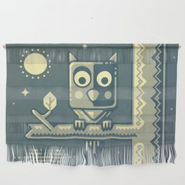 Night owl graphic design Wall Hanging