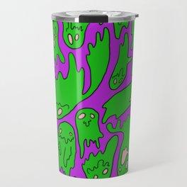Green Ghosties Travel Mug