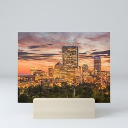 Boston Skyline Mini Art Print