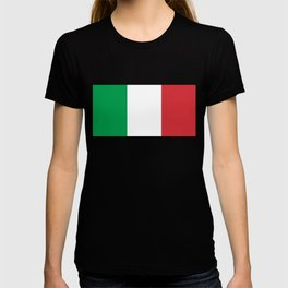 National Flag of Italy, High Quality Image T-shirt