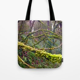 Green Burst Tote Bag