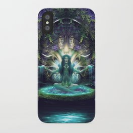 Convalescence - Visionary - Fractal - Manafold Art iPhone Case