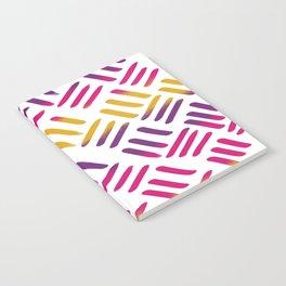Sunset Stitch Notebook