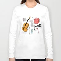 murakami Long Sleeve T-shirts featuring I miss you sometimes by Saskdraws