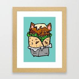 Buburrito Framed Art Print