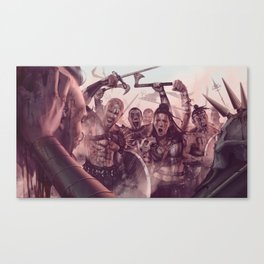 Army of Savages Canvas Print