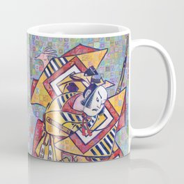 Kabuki Actor Ichikawa Danjuro II Coffee Mug
