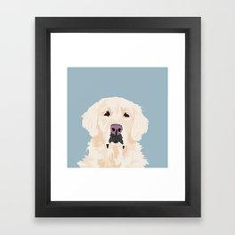 Golden Retreiver Framed Art Print