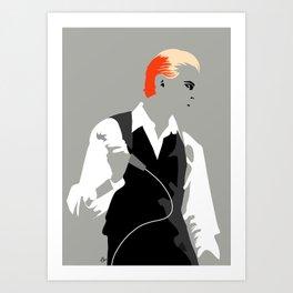 The Thin White Duke Art Print