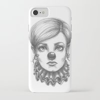 clown iPhone & iPod Cases featuring Clown by Robin Ewers