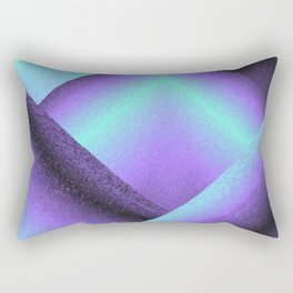 purple and blue mountains Rectangular Pillow