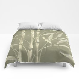 Bamboo - Olive Comforters
