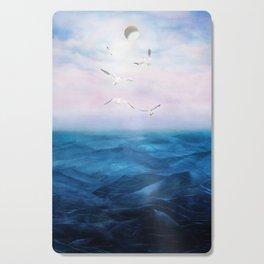 Watercolor Sea 5 Cutting Board