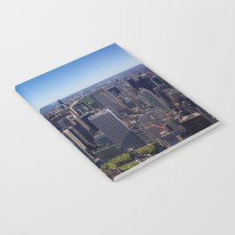 New York City at Empire State Building Notebook