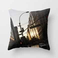 New York City Union Square NYC Throw Pillow