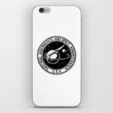 Vintage NASA logo iPhone & iPod Skin